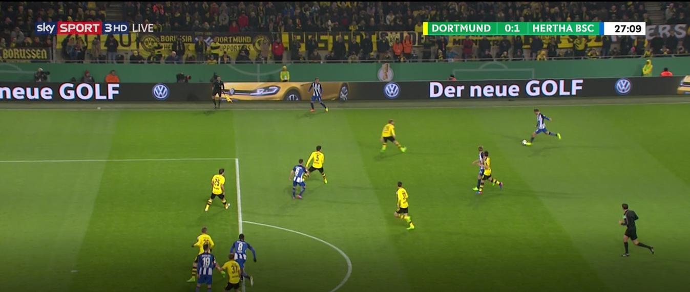 Dortmund - Hertha (κύπελλο)
